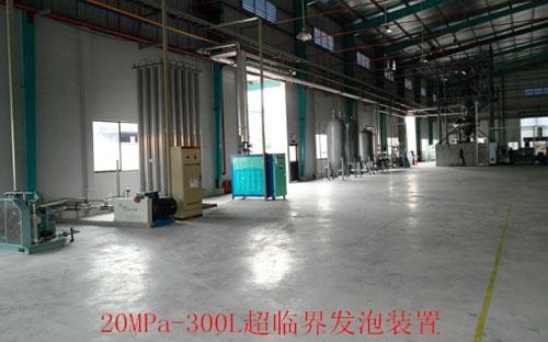 Supercritical foaming equipment
