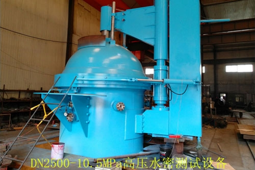 High pressure water tight equipment