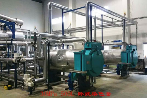 Supercritical dyeing equipment